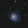 M 101 Feuerrad Galaxie